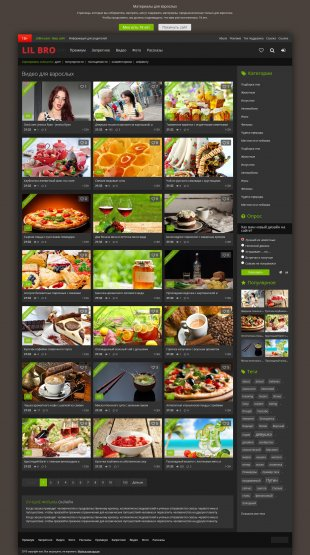 LilBro - vip видео шаблон